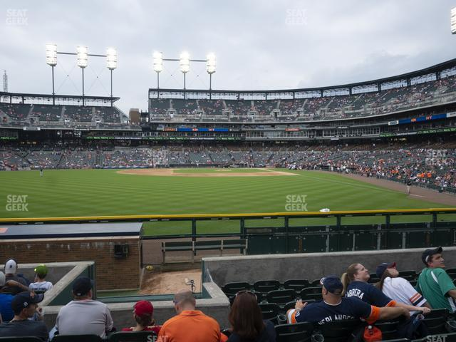 Comerica Park Section 148 view