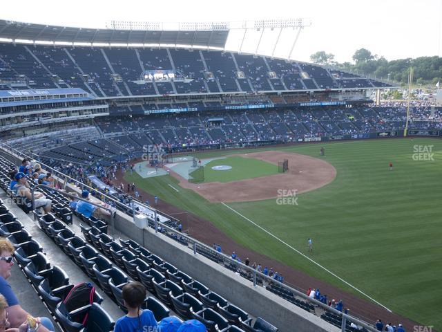 Kauffman Stadium Section 438 view