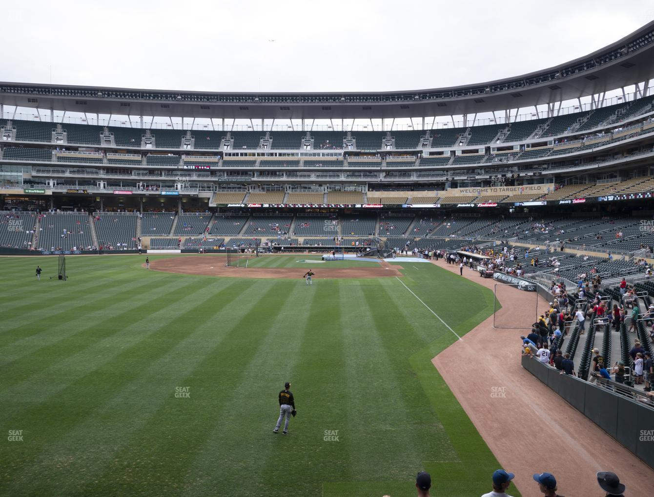 Minnesota Twins at Target Field Section 128 View