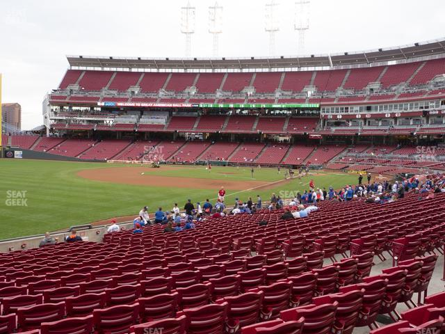 Great American Ball Park Section 111 view