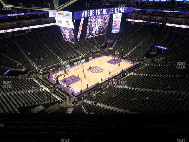Golden 1 Center Section 221 view