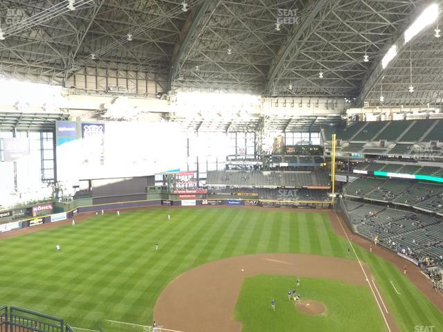 Miller Park Section 428 view