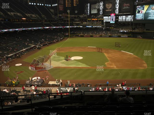 Chase Field Section 209 view