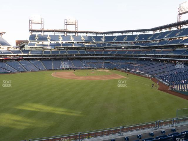 Citizens Bank Park Section 244 view
