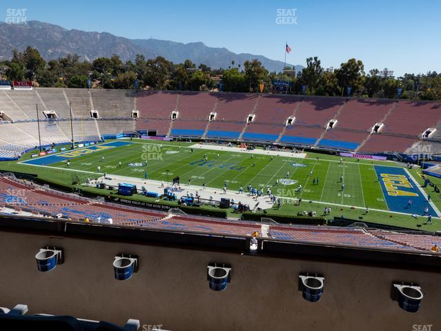 The Rose Bowl Section Club 106 view