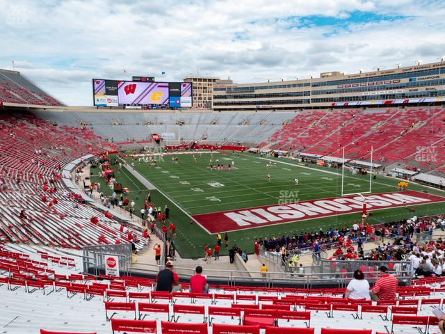 Camp Randall Stadium Section Z 2 view