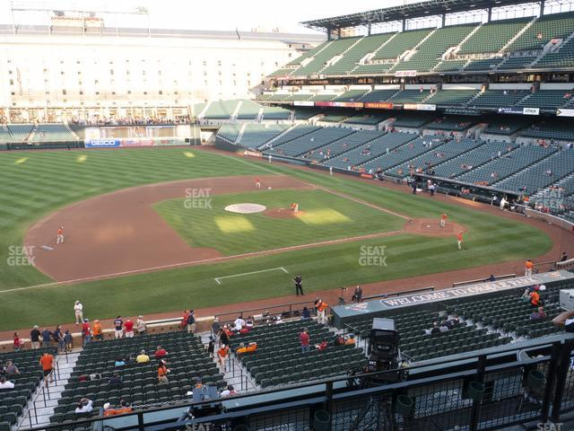 Oriole Park at Camden Yards Section 252 view