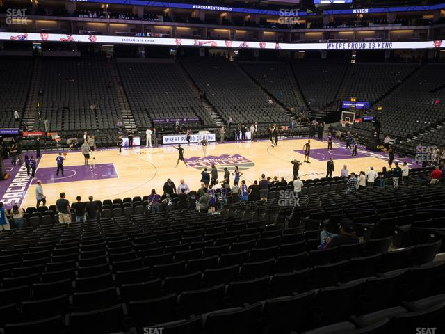 Golden 1 Center Section 121 view