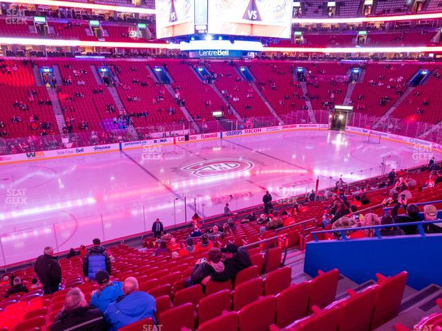 Bell Centre Section 103 view