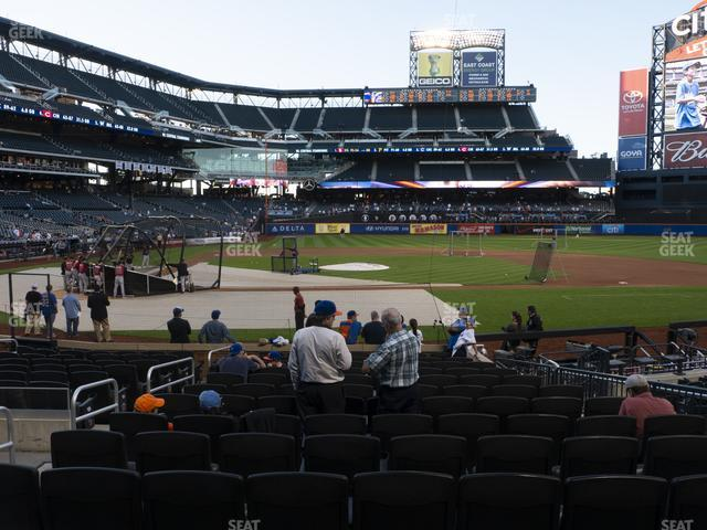 Citi Field Section 114 view