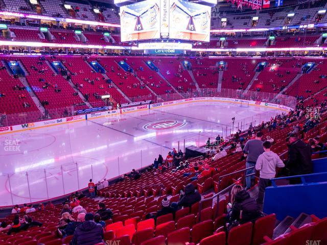 Bell Centre Section 116 view