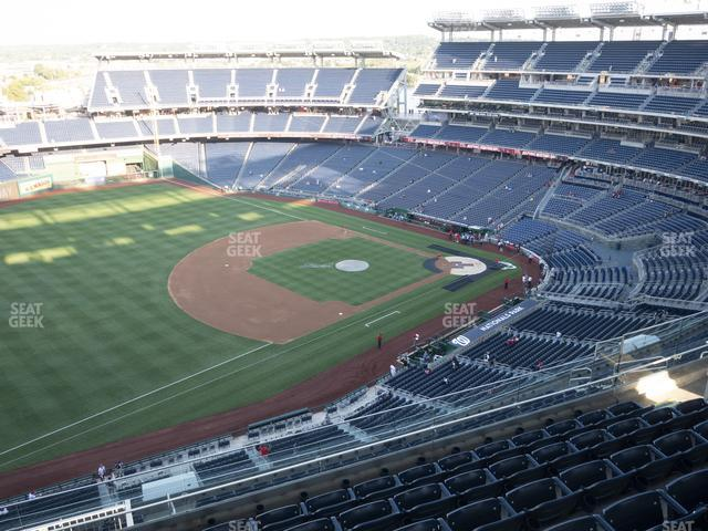 Nationals Park Section 404 view