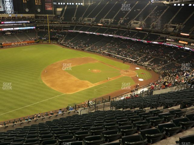 Chase Field Section 326 view