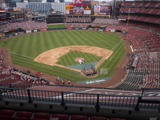 Busch Stadium Infield Terrace 452 view