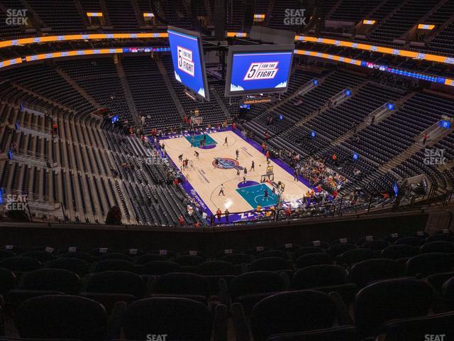 Vivint Smart Home Arena Section 105 view