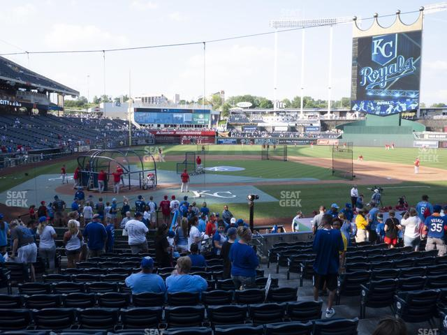 Kauffman Stadium Section 131 view
