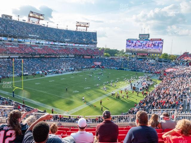 Nissan Stadium Section 221 view