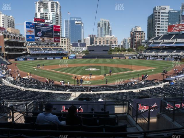 Petco Park Premier Club G view