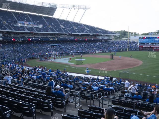 Kauffman Stadium Section 240 view