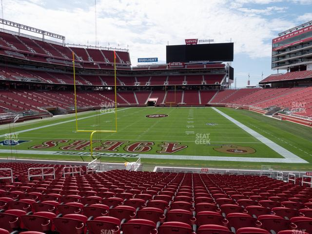 Levi's Stadium Section 102 view