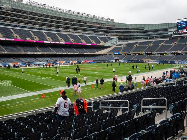 Soldier Field Section 143 view