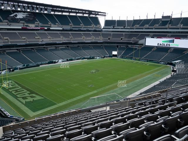 Lincoln Financial Field Section C 35 view