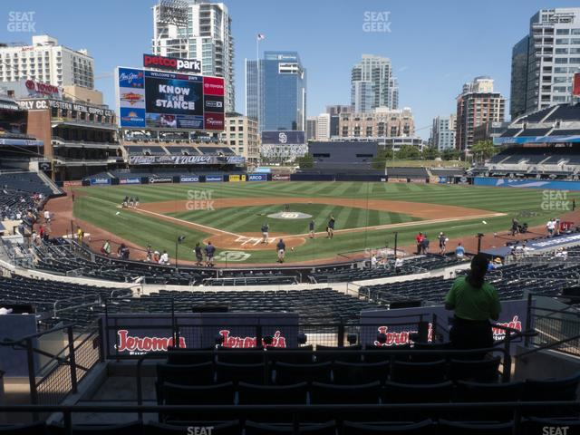 Petco Park Premier Club H view