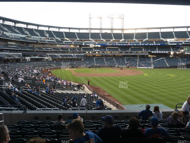 Citi Field Section 104 view