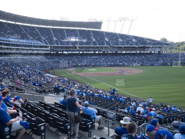 Kauffman Stadium Section 246 view