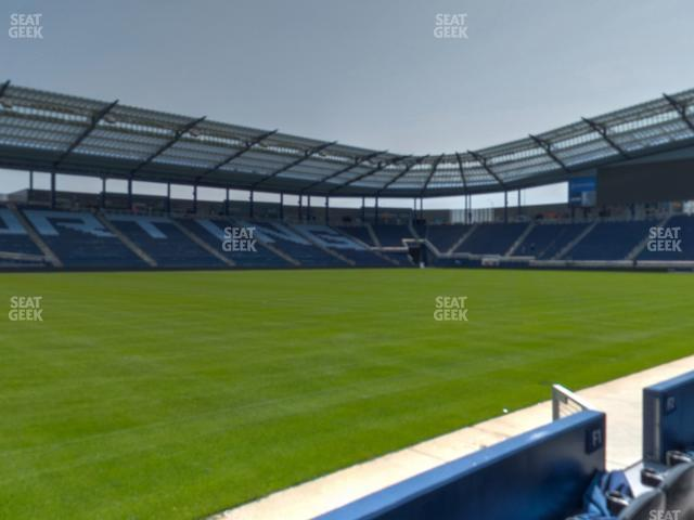 Children's Mercy Park Field Club 1 view