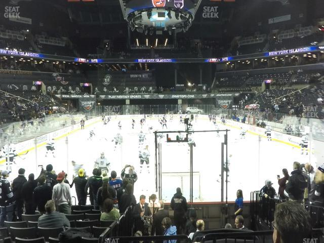 Barclays Center Section 16 view