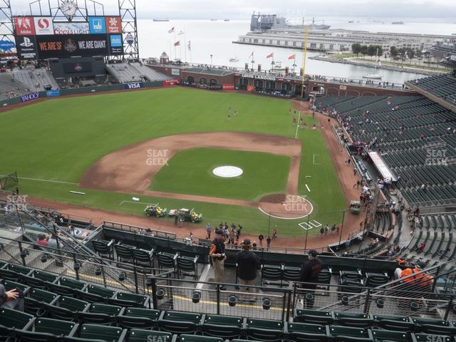 Oracle Park Section 320 view