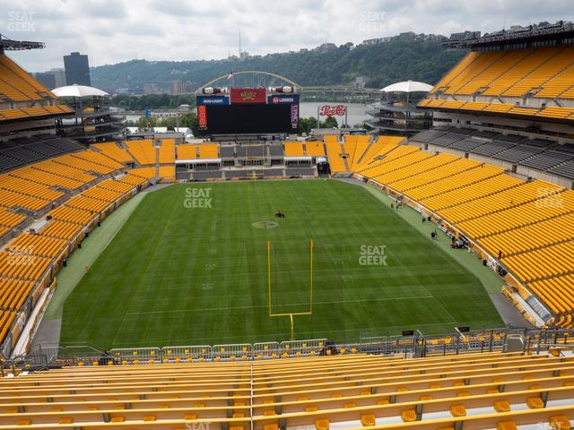 Heinz Field Section 522 view