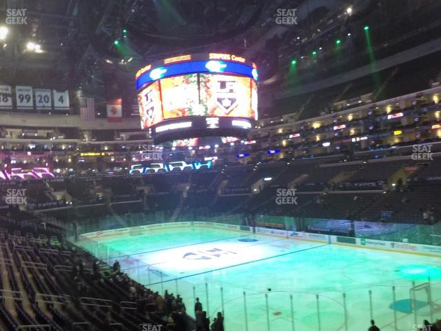 Staples Center Section 210 view