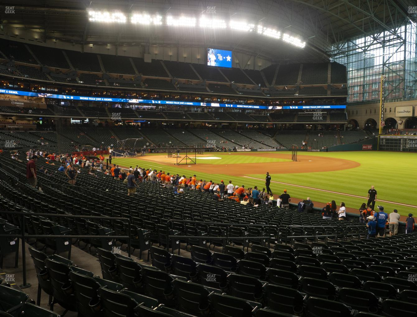Minute Maid Park Section 132 Seat Views Seatgeek