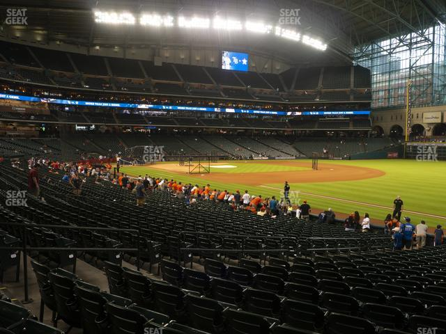 Minute Maid Park Section 132 view