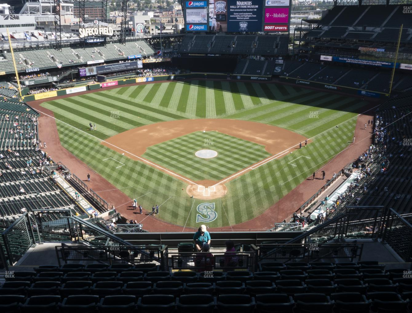 Seattle Mariners at T-Mobile Park Section 330 View