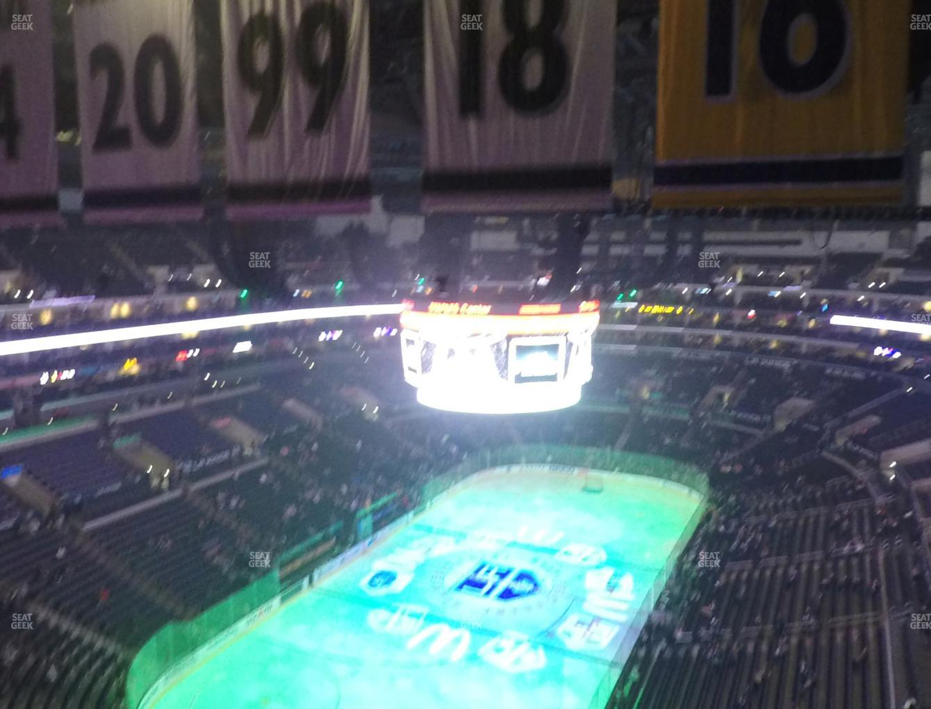 Los Angeles Kings at Staples Center Section 324 View