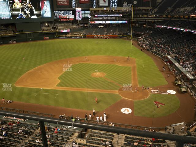Chase Field Section 320 view