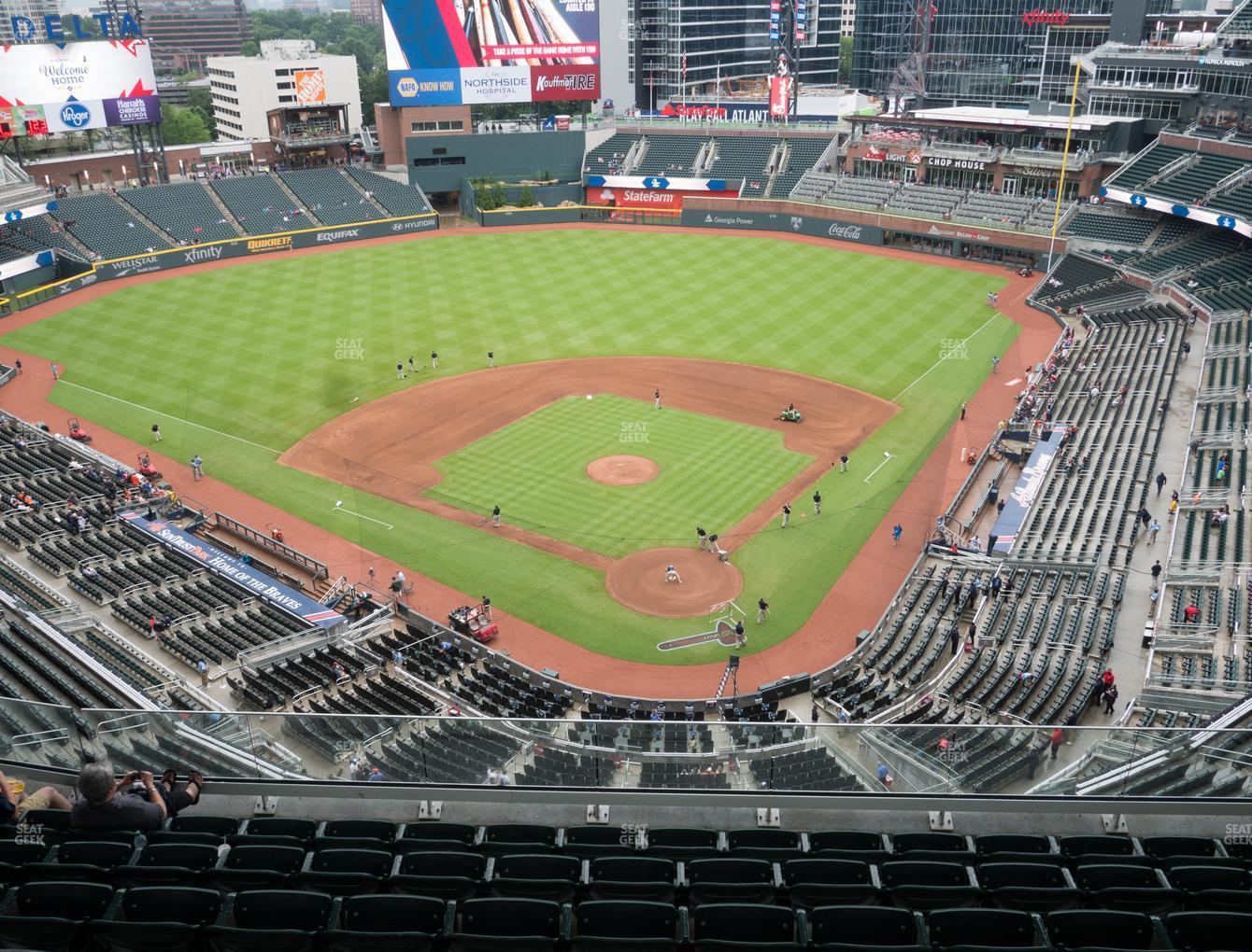 Atlanta Braves at Truist Park Section 427 View