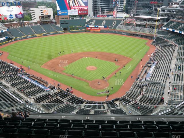 SunTrust Park Section 427 view