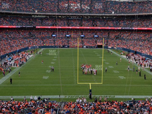 Empower FIeld at Mile High Section 233 view