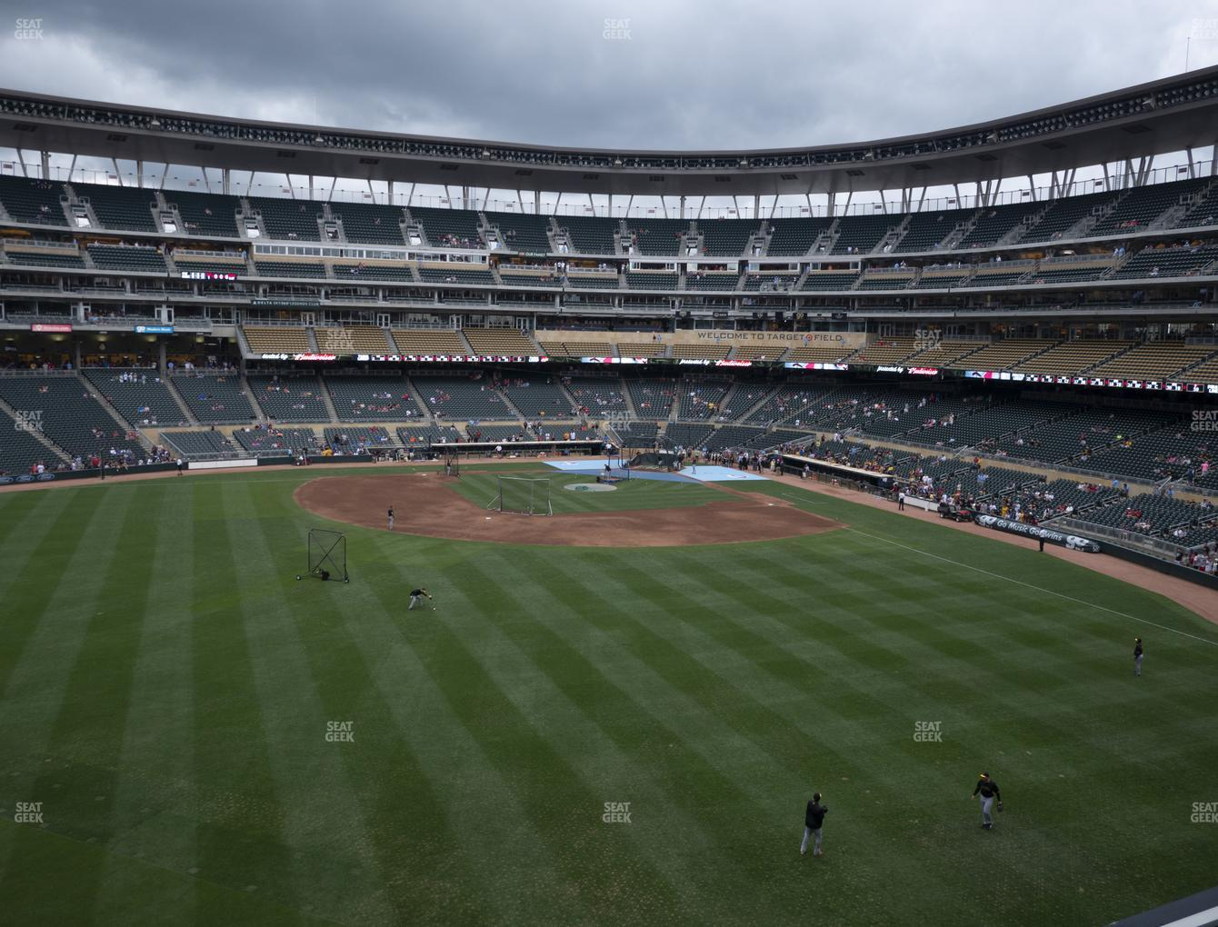 Minnesota Twins at Target Field Section 232 View