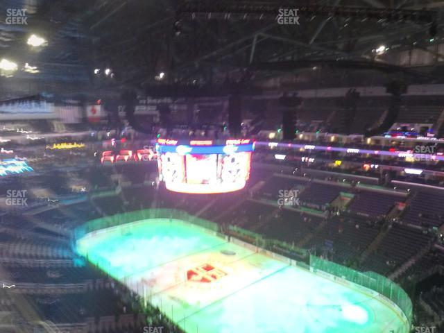 Staples Center Section 314 view