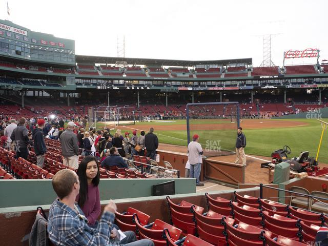 Fenway Park Right Field Box 8 view