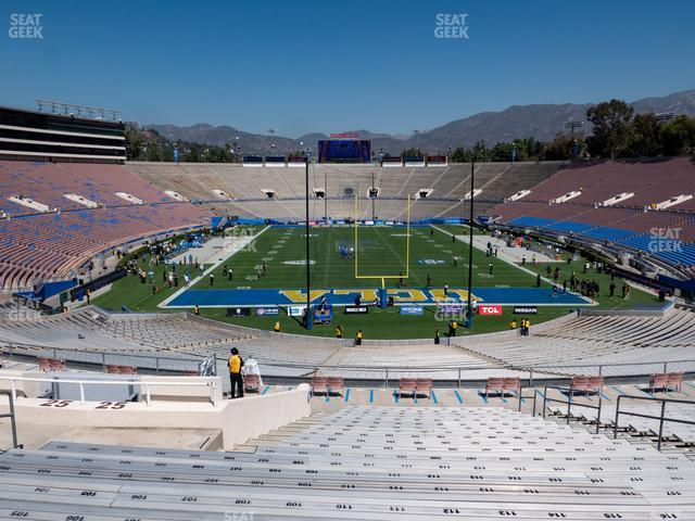 The Rose Bowl Upper 25 H view