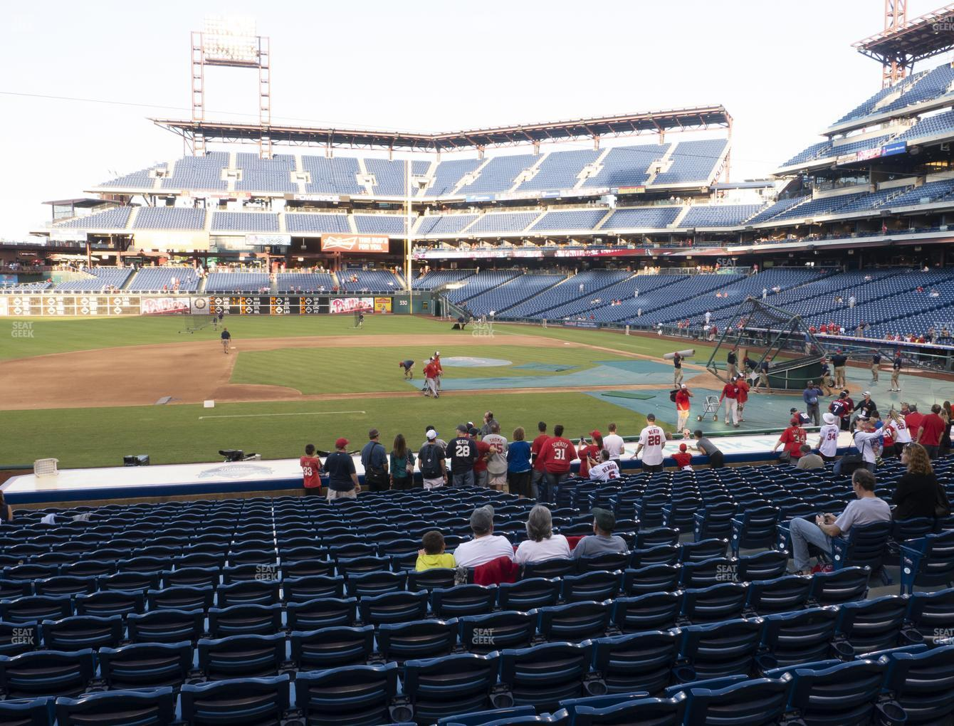 Philadelphia Phillies at Citizens Bank Park Section 131 View