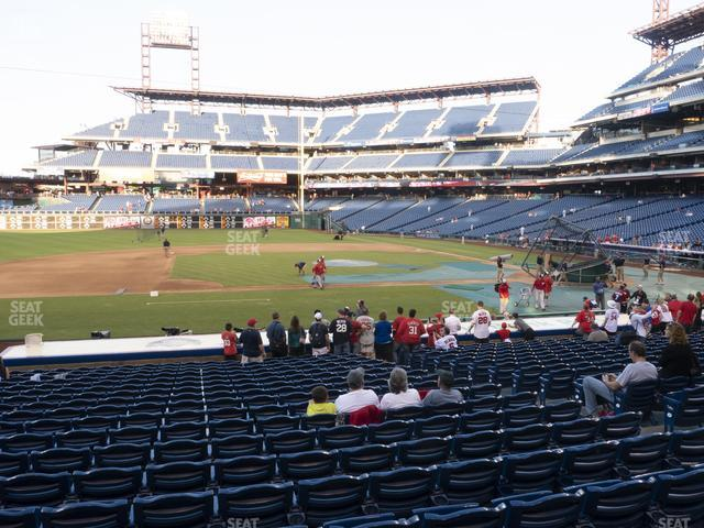 Citizens Bank Park Section 131 view