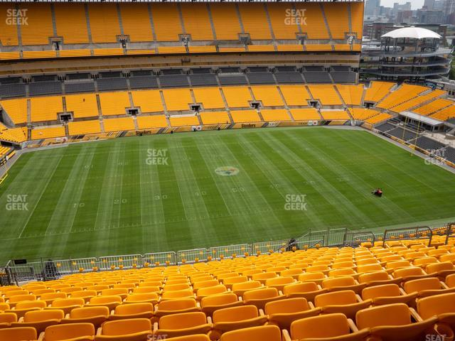 Heinz Field Section 533 view