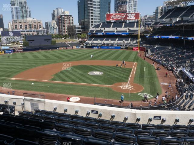 Petco Park Section 204 view
